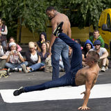 Breakdancer. Royalty Free Stock Photos