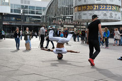 Breakdancer in Berlin Stock Photo