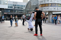 Breakdancer in Berlin Stock Images