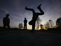 Breakdancer Royalty Free Stock Photos