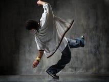 Breakdancer en baisse Images libres de droits