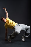 Breakdancer in freeze Stock Photos