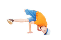 Breakdancer standing in freeze Stock Image