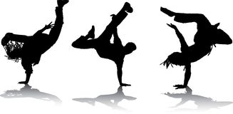 Breakdancers Stock Photos