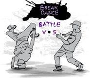 Breakdancers Fotografia Stock