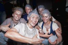 breakdancers grupują Russia zdjęcie stock