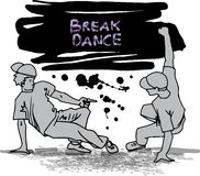Breakdancers Stock Photography