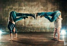 Breakdancerteam Stockfoto
