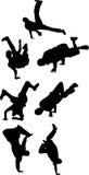 breakdancing ομάδα Στοκ Εικόνα