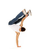 Breakdancing isolated Royalty Free Stock Image