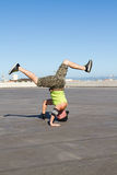 Breakdancing man Stock Photography