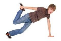 breakdancing pozycja Zdjęcia Stock