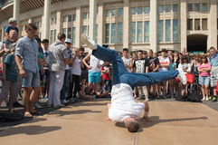 Breakdancing Royalty Free Stock Images