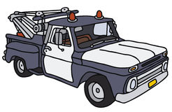 Breakdown service car. Vector illustration, hand drawing Stock Illustration