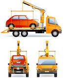 Breakdown Truck Royalty Free Stock Photography