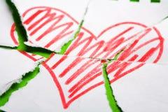 Breake Heart Royalty Free Stock Photography