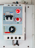 Breaker control box Royalty Free Stock Photo
