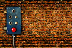 Breaker panel royalty free stock photography
