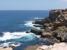 Breakers on the Australian coast Royalty Free Stock Photos