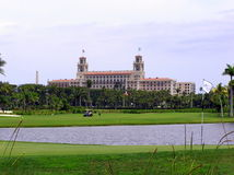 The Breakers Hotel and Resort, Palm Beach, Florida. A legendary club and resort The Breakers is an historic hotel in Palm Beach, Florida, United States. First royalty free stock photo