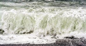 Breakers at the Janubio Beach on Lanzarote Island Royalty Free Stock Photo