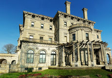 The Breakers mansion, Newport. Picture of The Breakers mansion located at Newport, Rhode Island, USA Royalty Free Stock Photography
