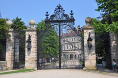 The Breakers Mansion in Newport. Rhode Island stock images