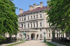 The Breakers Mansion in Newport Stock Images