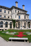 The Breakers mansion on Ochre Point in Newport, Rhode Island. Stock image of The Breakers mansion on Ochre Point in Newport, Rhode Island royalty free stock photography