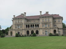 The Breakers. Is the most famous of the New Port mansions. The back lawn view allows for the entire mansion to be put into perspective Royalty Free Stock Photos