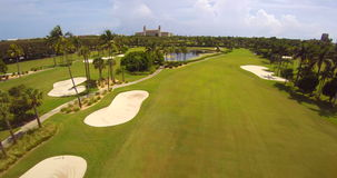 The Breakers West Palm Beach aerial video stock video footage