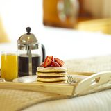 Breakfast. A scrumptious breakfast for you Royalty Free Stock Photos
