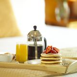 Breakfast. A scrumptious breakfast for you Stock Images