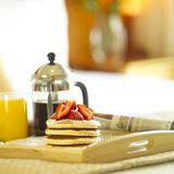 Breakfast. A scrumptious breakfast for you Stock Photography