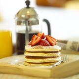 Breakfast. A scrumptious breakfast for you Stock Photo