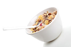 Breakfast. On a white background Stock Photo