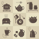 Breakfast stock illustration