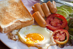 Breakfast American style Stock Image