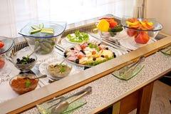 Breakfast arrangement Stock Photography