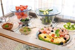 Breakfast arrangement Royalty Free Stock Photo