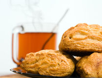 Breakfast background Royalty Free Stock Images