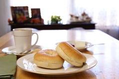 Free Breakfast Bagels Royalty Free Stock Photos - 4355448