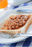Breakfast Baked Beans stock image
