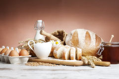Breakfast.Bakery Bread. Stock Image