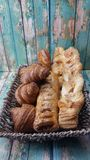 Breakfast Basket Royalty Free Stock Photography