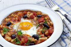 Breakfast Beans Stock Photography