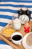 Breakfast in Bed royalty free stock photo
