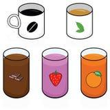 Breakfast beverages Stock Photos