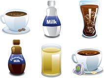 Breakfast Beverages Stock Image