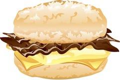 Breakfast biscuit sandwich Stock Photography